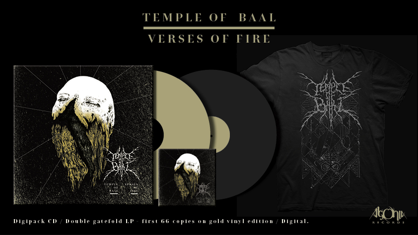 TEMPLE OF BAAL - Verses of Fire